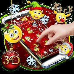 Tema Emoji 3D Natal