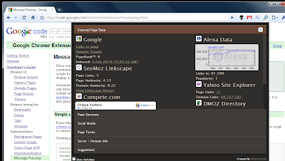 Google Chrome Extensions For Web Developer and Designer
