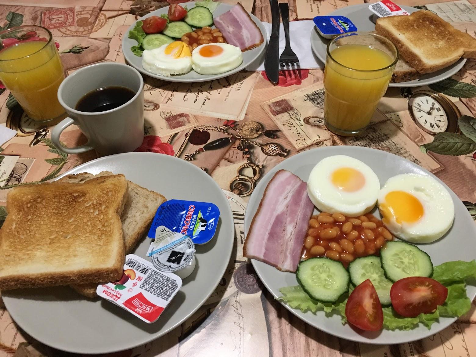 Desayuno en Moscú