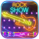 Download Neon Rock Guitar Keyboard Theme For PC Windows and Mac