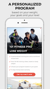 101 Fitness - My personal fit plan at home- screenshot thumbnail