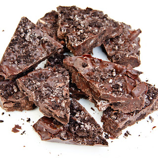 Dark & White Chocolate Oreo Cookie Bark (gluten-free, vegan)