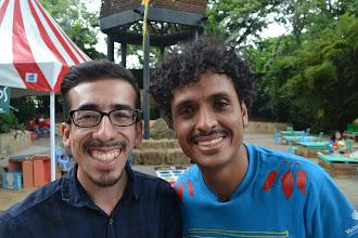 Photo: Juancho Valencia y César Moreno Radiantes