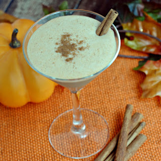 Pumpkin Martini.