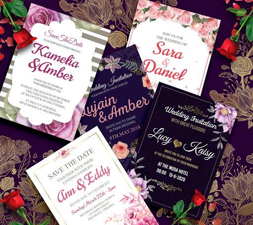 Top Wedding Invitation Card Maker - Creator (RSVP) by Nilesh Jain CX66
