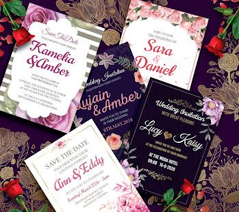 Wedding Invitation Card Maker Creator Rsvp For Pc