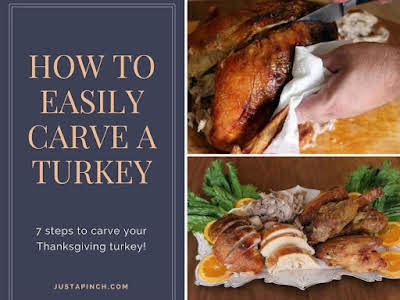 How to Easily Carve a Turkey