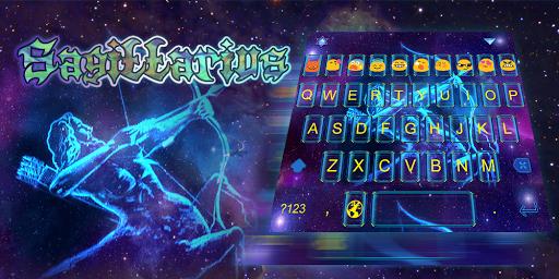 Emoji Keyboard-Sagittarius