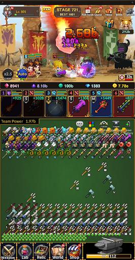 Weapon Heroes : Infinity Forge(Idle RPG) 0.9.041 screenshots 8