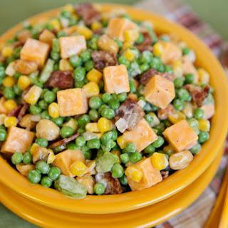 Cracker Barrel Easy Peas-y Side Dish.