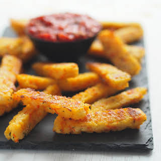 Baked Polenta Vegetable Fries.