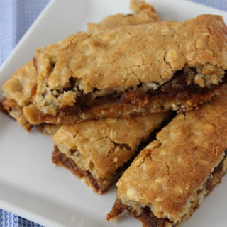 Spiced Date, Apple And Sticky Oat Slices