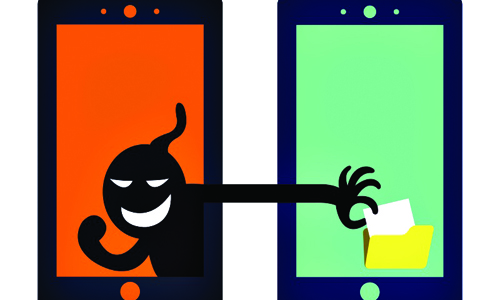 Apps to steal personal information from phone
