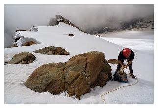 Photo: Ultimi preparativi prima della partenza per la cresta del soldato.