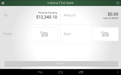 Indiana First Bank- screenshot thumbnail