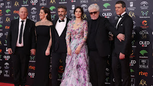 Antonio Banderas, en la pasada edición de los Premios Goya.