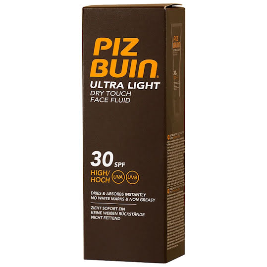 Piz Buin Ultra Light Dry Touch Face Fluid SPF 30 50 ml