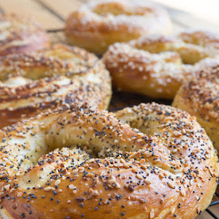 Everything Bagel Soft Pretzels [Vegan]