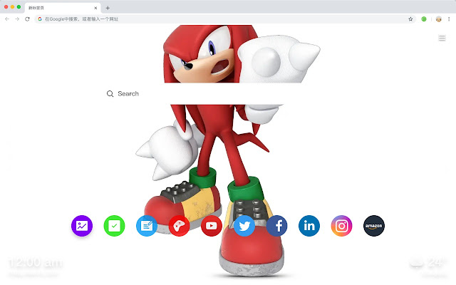 Sonic HD Wallpapers New Tab Animations Themes