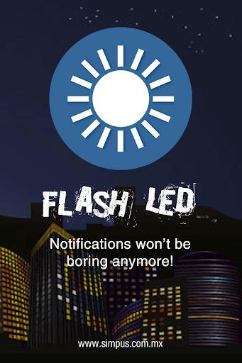 Flash Led Simpus