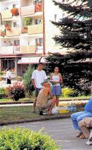 Photo: Tak wyglądała wspólnota, gdy pojawiała się na ulicach miasta - oczywiście w charakterze ewangelizacyjnym