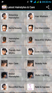 Latest Hairstyles & Care - náhled
