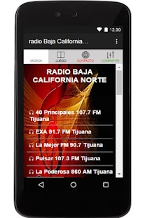 radio Baja California Norte fm - náhled