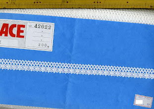 Photo: №42022-00トーション晒:巾17mm