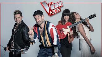Los coach de la quinta edición de La Voz Kids.
