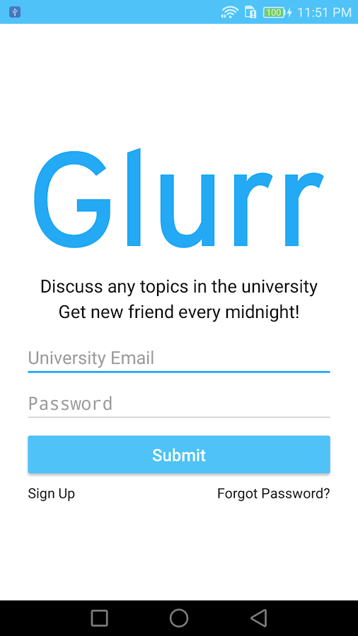 Glurr- screenshot