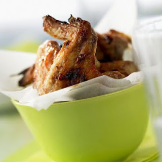Glazed Barbecue Wings