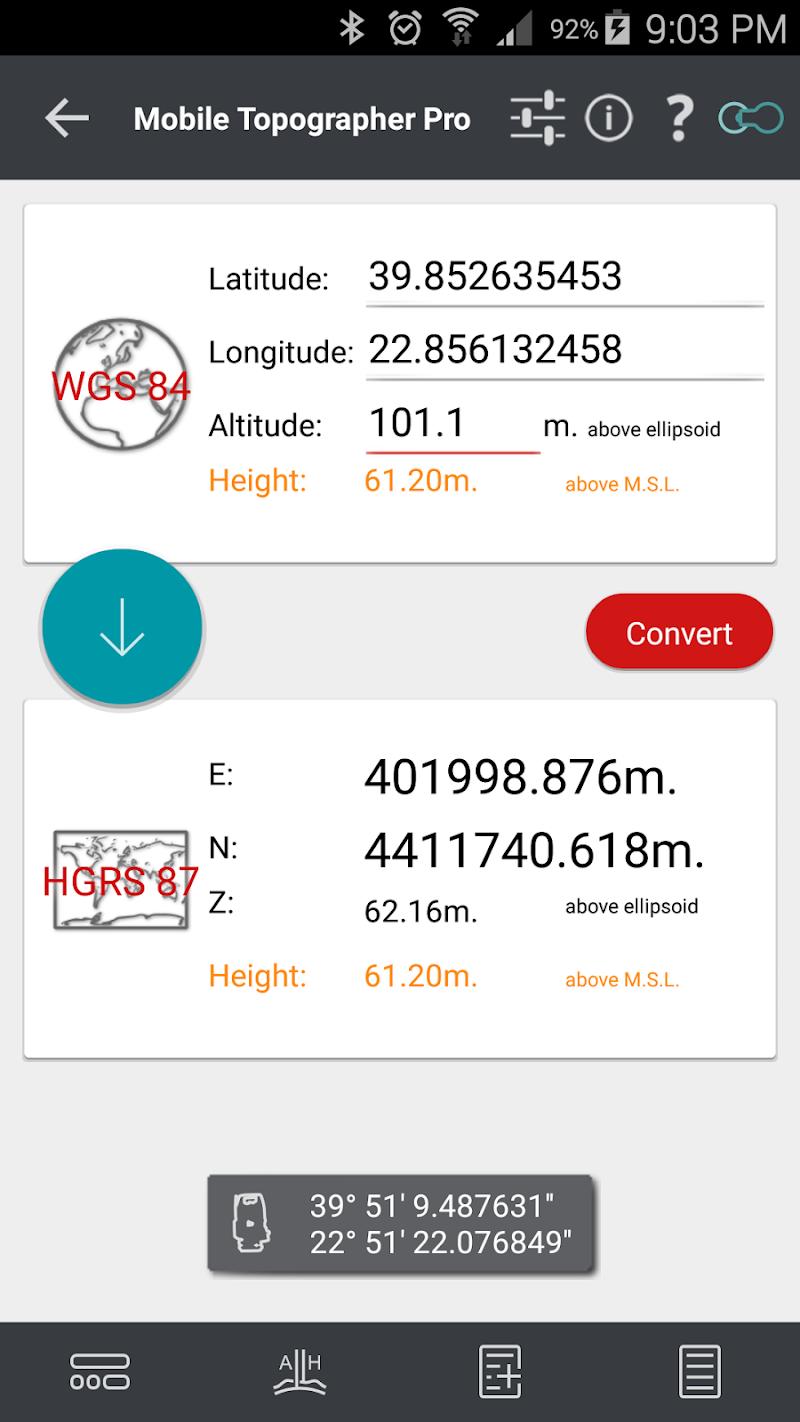 Mobile Topographer Pro Screenshot 4