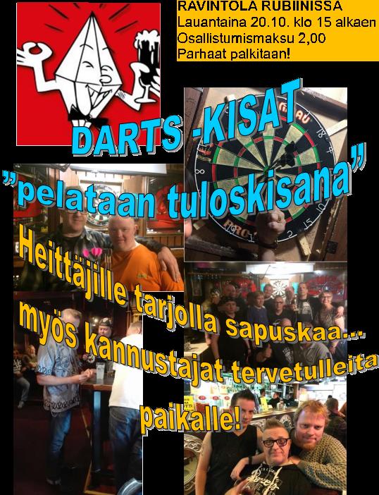 DARTS.kisat 20.10.2018