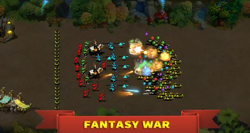 StickMan Defense War - Empire Hero & Tower Defense apktram screenshots 4