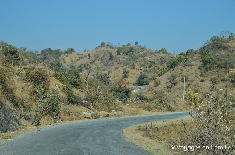 Route sinueuse Kumbhalgarh
