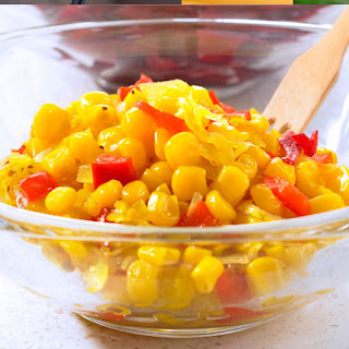 Sweet & Hot Corn Relish.