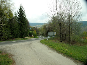 Photo: Dalej mieliśmy się udać w kierunku Trzech Kopców Wiślańskich, jednak wypadek kolegi spowodował, że zjechaliśmy do Wisły asfaltem.