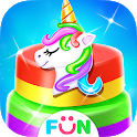 Unicorn Bakery Food Games- Baking Salon Games icon
