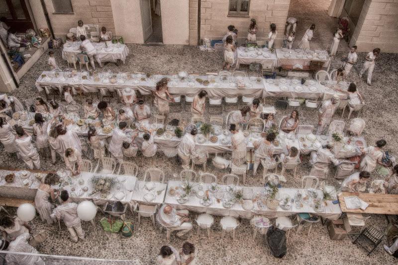 Cena in bianco di Ilaria_tuccio_photo