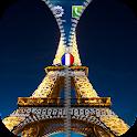 París cremallera pantalla icon