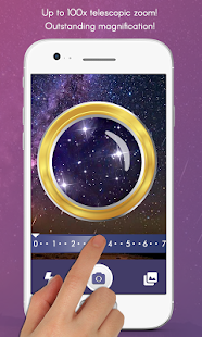 Magnifying Camera: Telescope Microscope Theme Screenshot