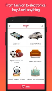letgo sell buy used stuff screenshot thumbnail. Black Bedroom Furniture Sets. Home Design Ideas