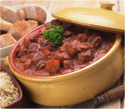 Photo: This is a traditional Hungarian meal called beef gulash here is the link on how to make it its dealicius -> http://www.becook.com/en/recipe/beef-gulash.htm