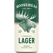 Canned Moosehead Lager