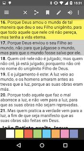 Bíblia JFA Offline: miniatura da captura de tela