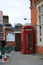 Photo: ...or a red telephone box.