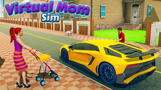 New Virtual Mom Happy Family 2020:Mother Simulator  Apk Download For Android and Iphone 5