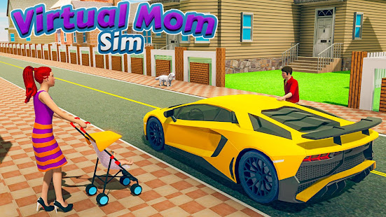 Download New Virtual Mom Happy Family 2020:Mother Simulator For PC Windows and Mac apk screenshot 5