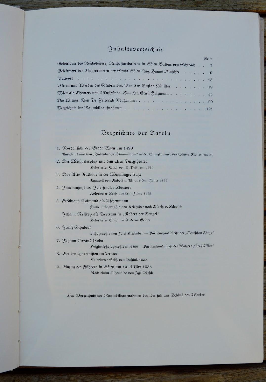 Raumbild-Album - Wien, Die Perle des Reiches - 1941