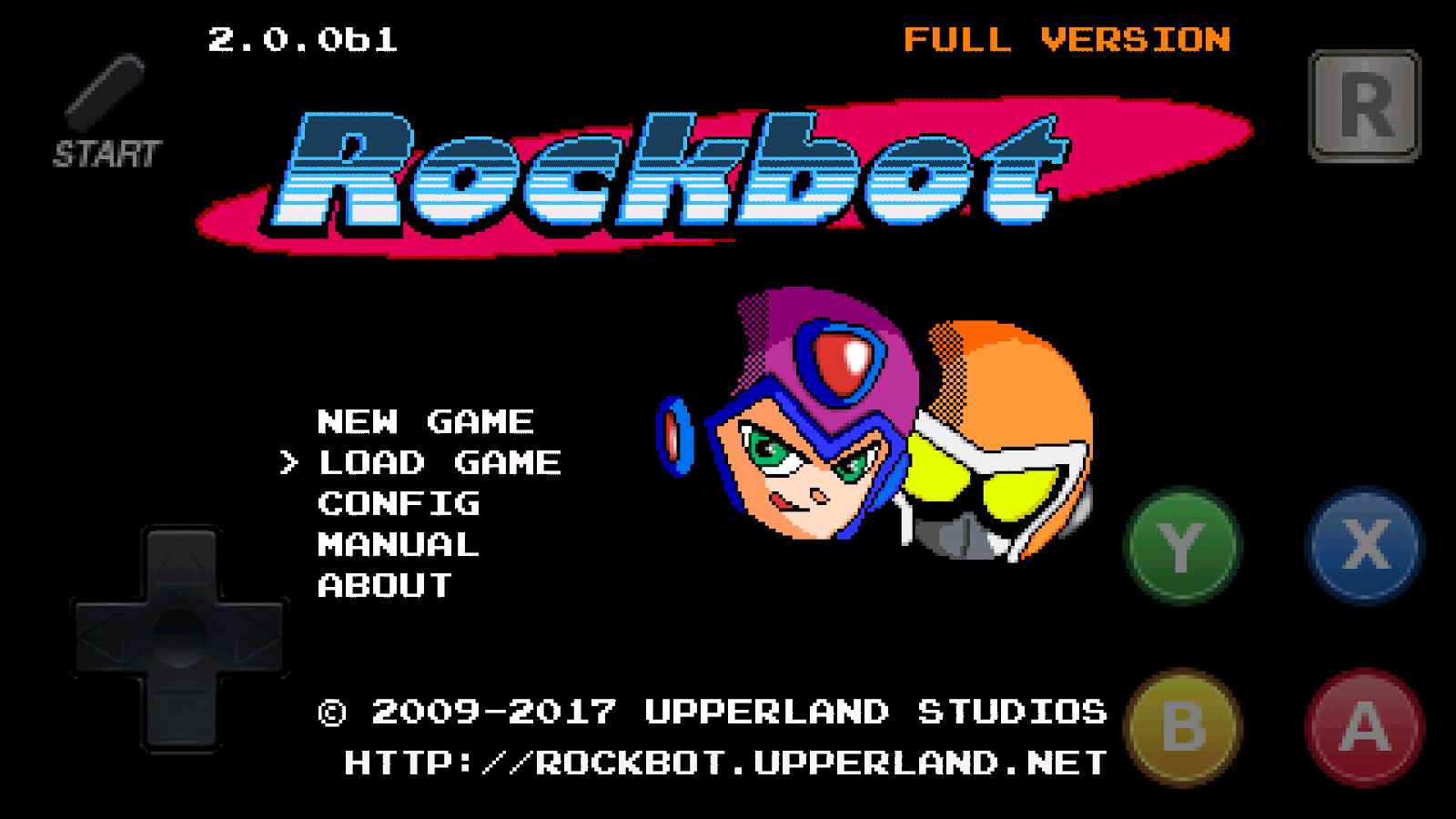 Rockbot 1- screenshot